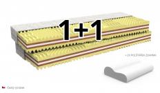 matrace HORTENZIE - kokosové vlákno -akcie 1 + 1 zdarma