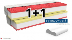 Ortopedický matrac MEMORY COMFORT EXTRA akcia 1 + 1 zdarma
